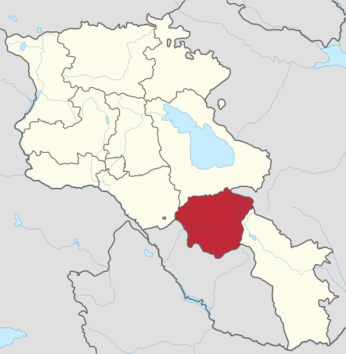Vayots Dzor Region