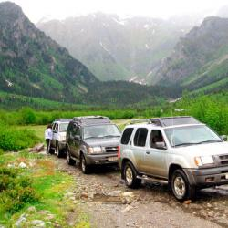 Daily winter jeep tour to Kalavan village